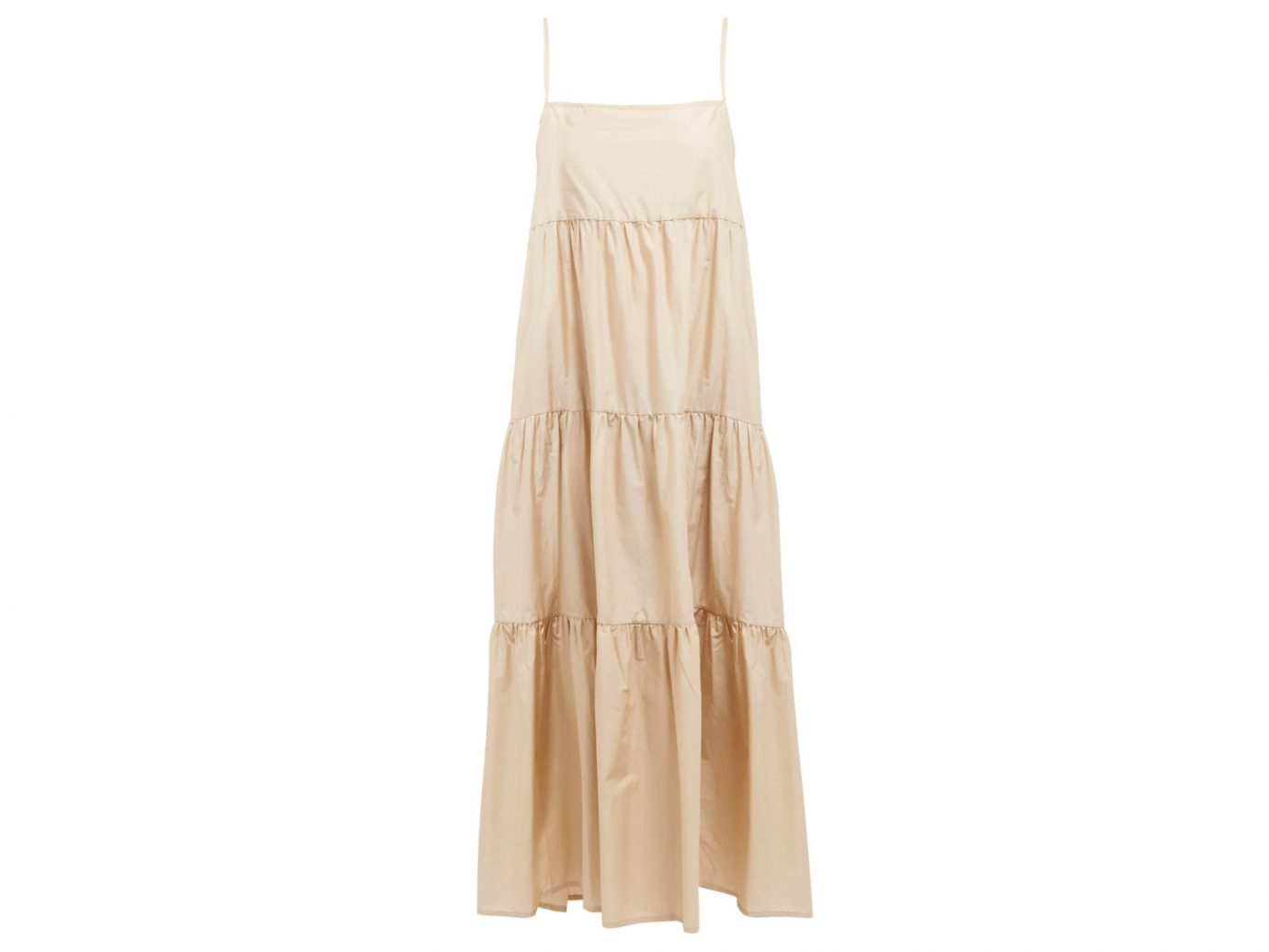 Matteau Tiered Cotton sundress