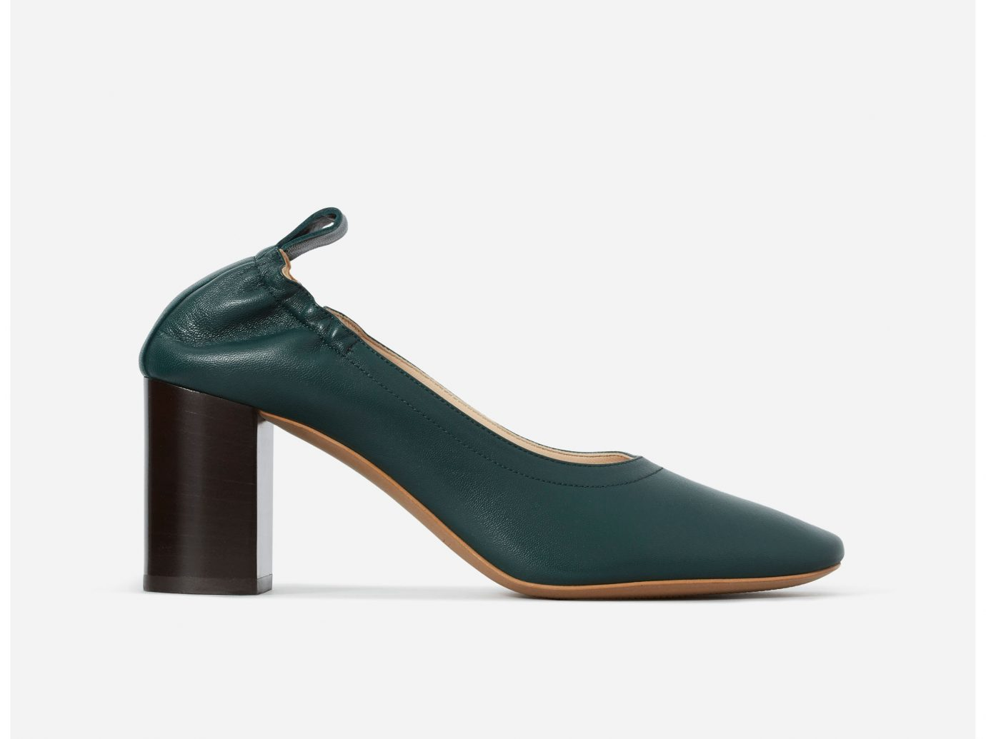 Everlane The Day High Heel in Ivy