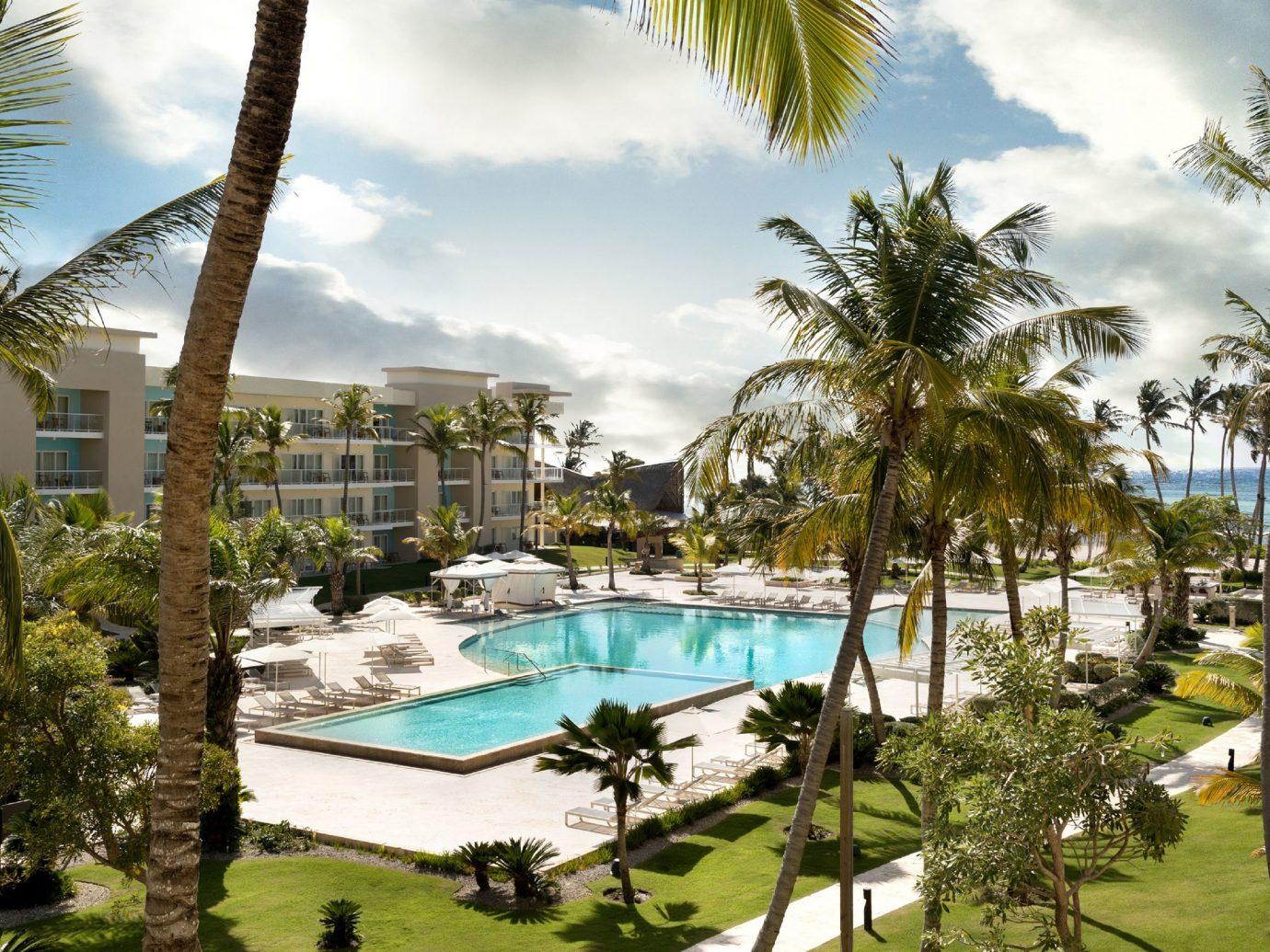 Pool view at Westin Puntacana