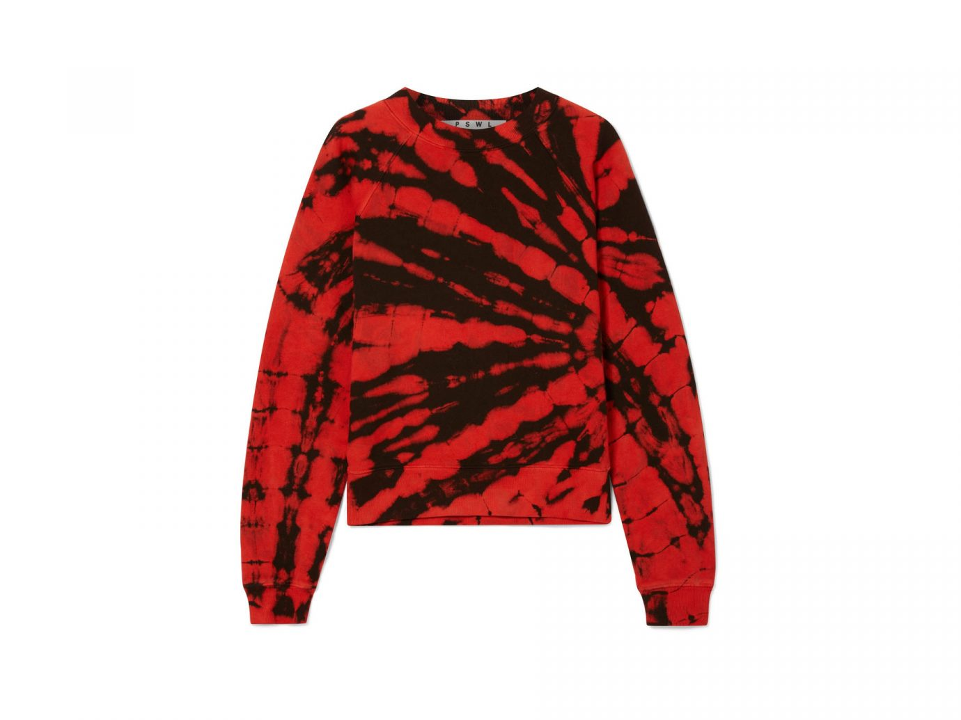 Proenza Schouler Tie-dyed cotton-terry sweatshirt