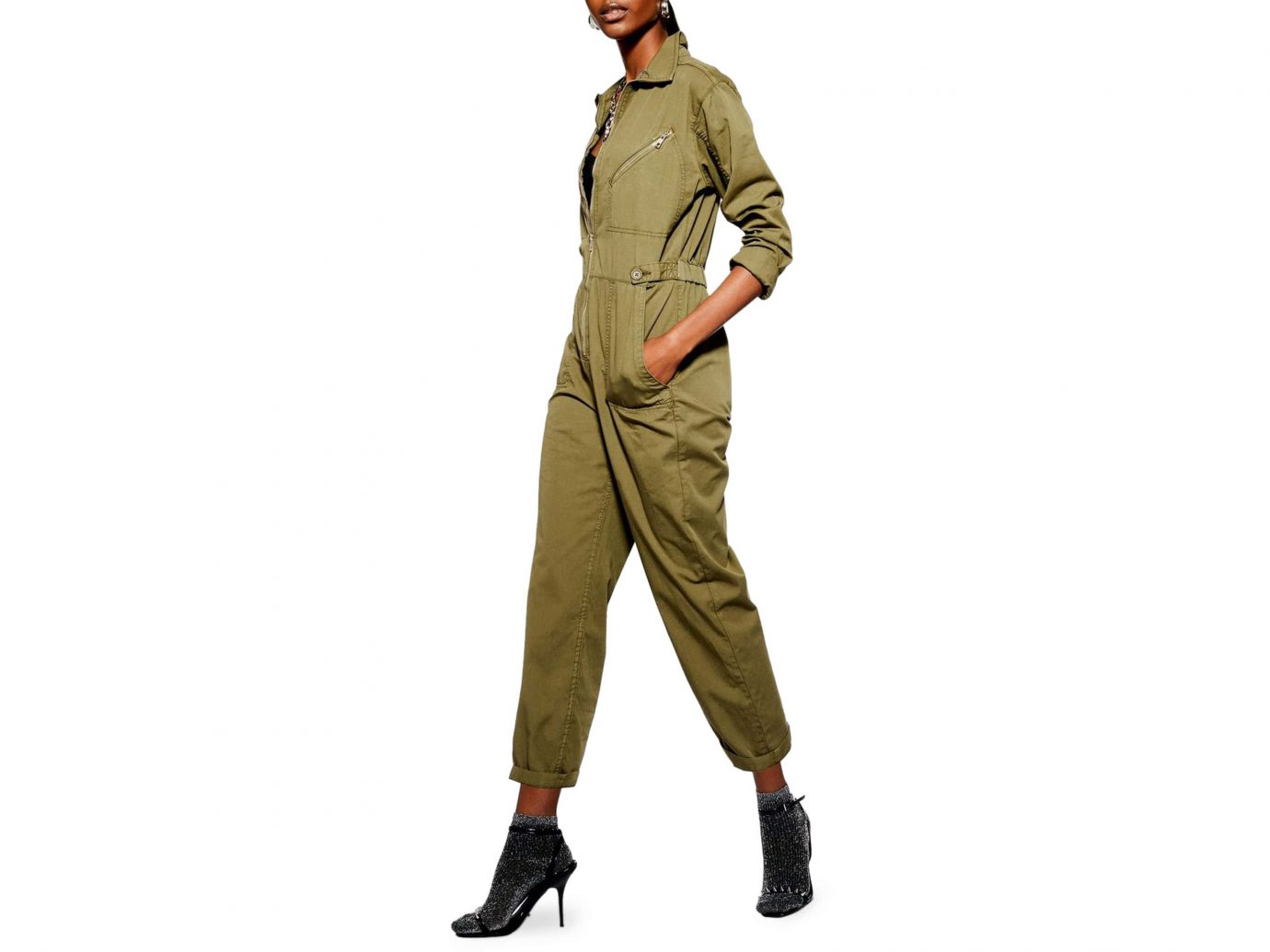 Topshop Mekan Utility Boilersuit