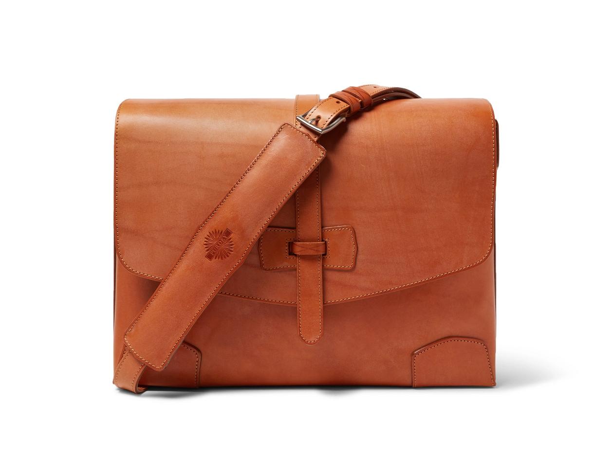 James Purdey & Sons Sporter Leather Messenger Bag