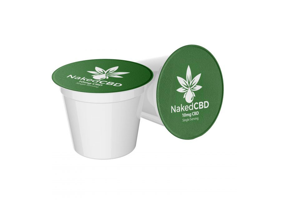 NakedCBD Coffee K-Cup