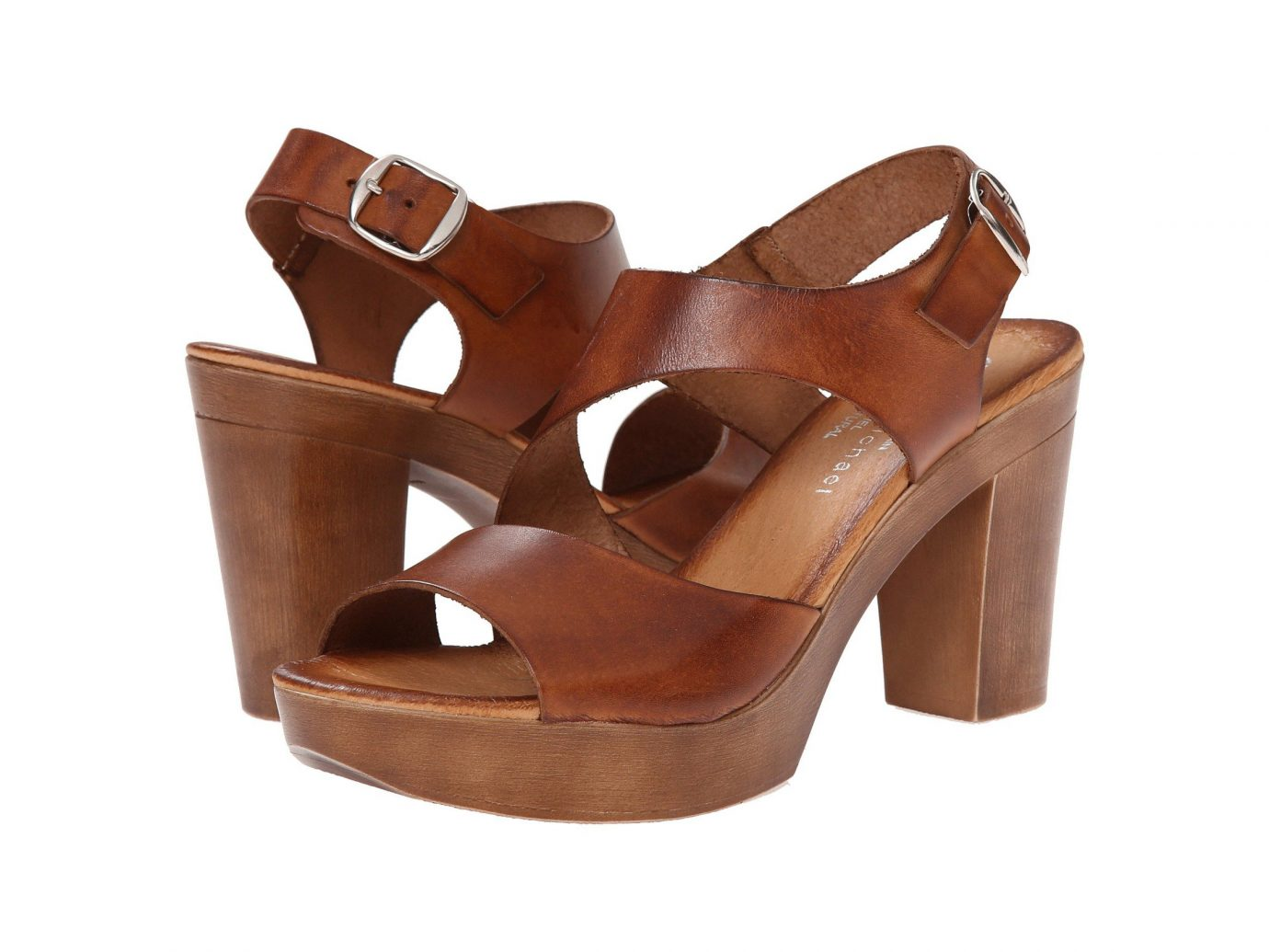 Eric Michael Ginger Heeled Sandal