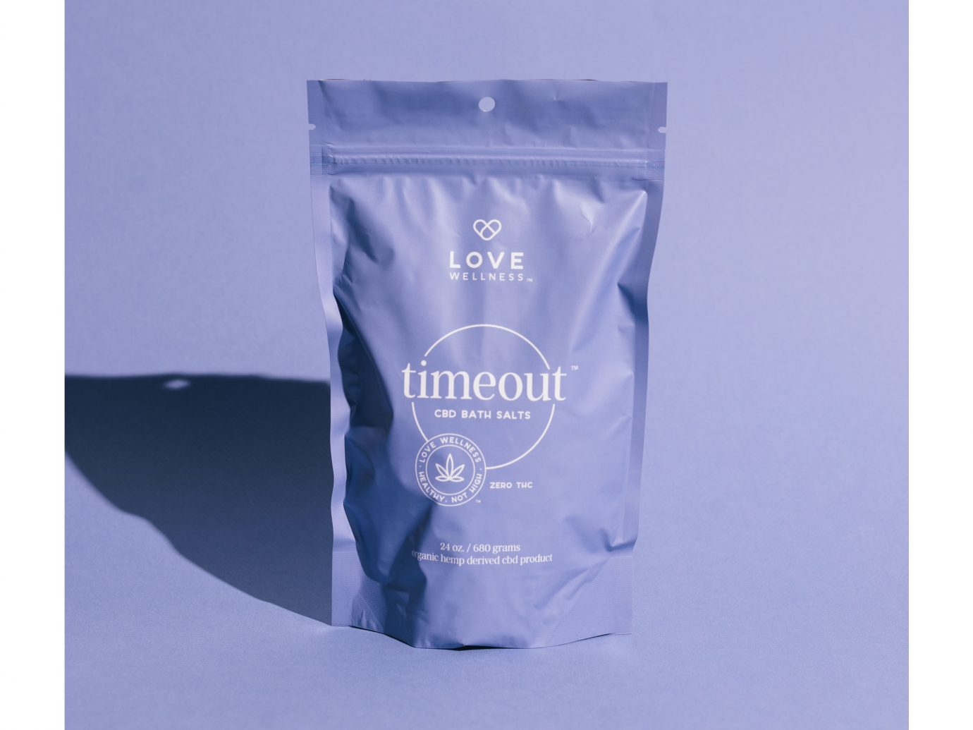 Love Wellness Timeout CBD Bath Salts