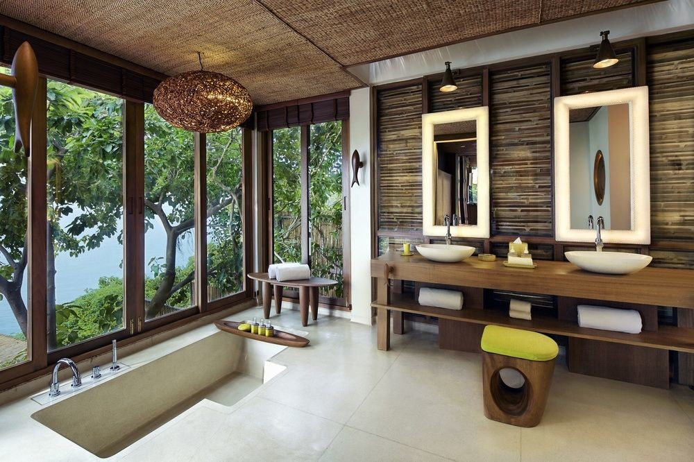 Bathroom at Six Senses Samui