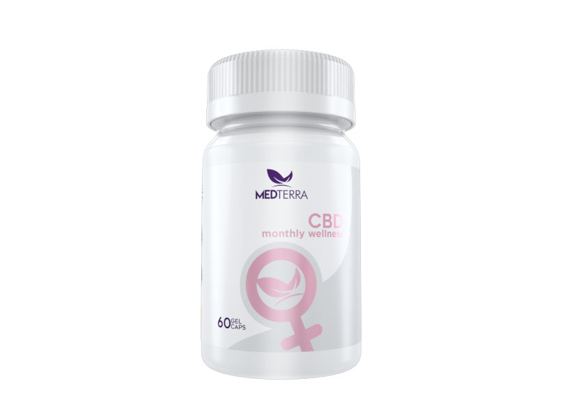 Medterra Women's Monthly Wellness CBD Capsules