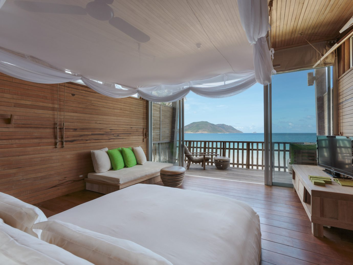 Bedroom at Six Senses Con Dao, Vietnam