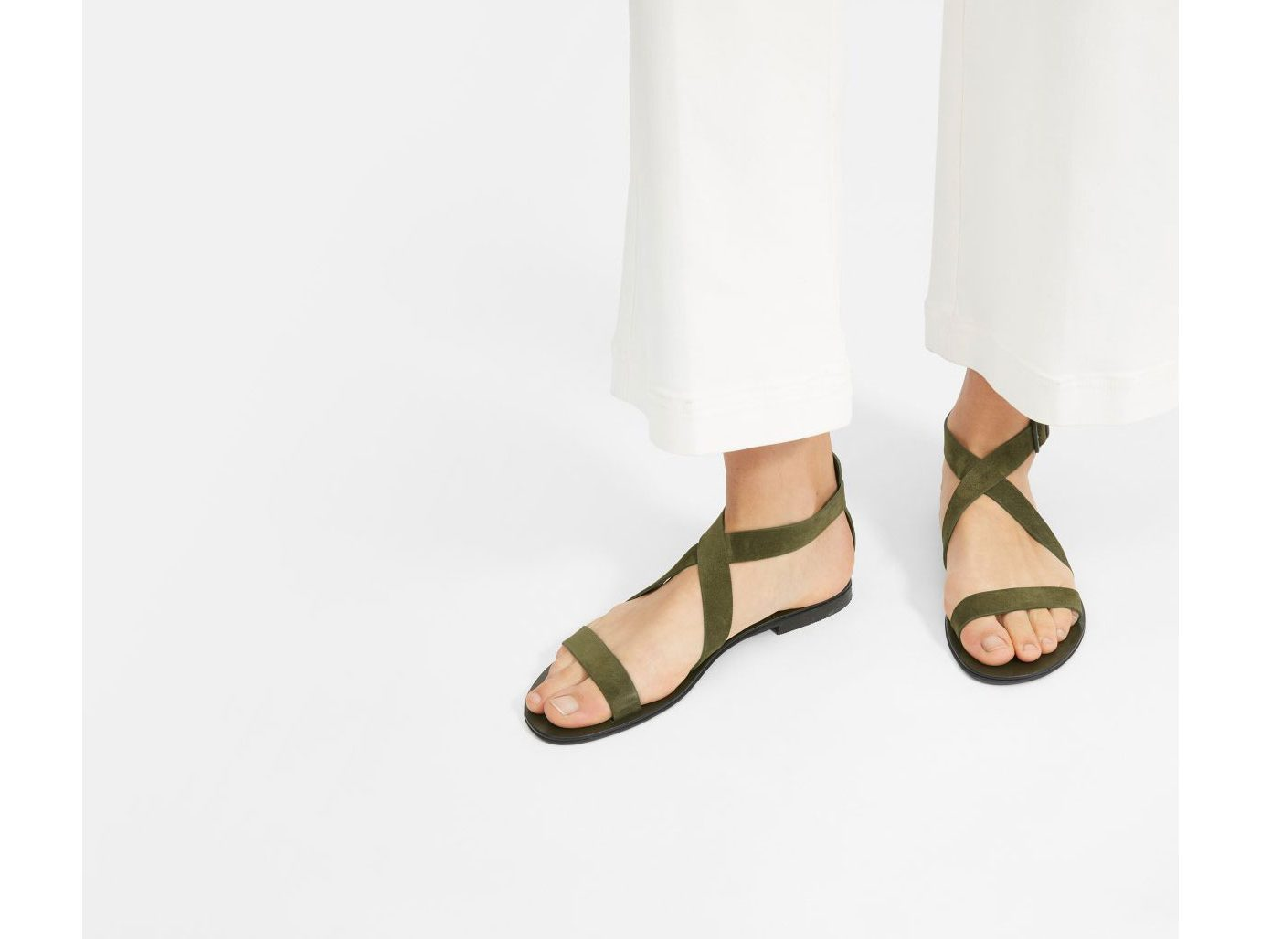 Everlane The Modern Wrap Sandal
