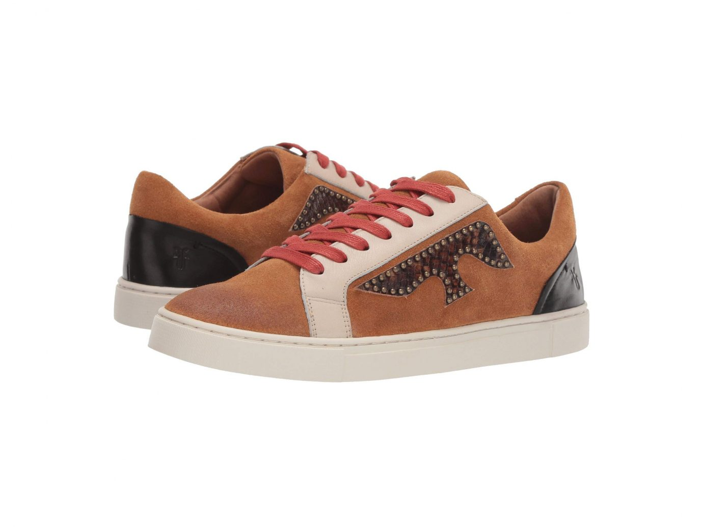Frye Ivy Logo Patch Low Sneakers