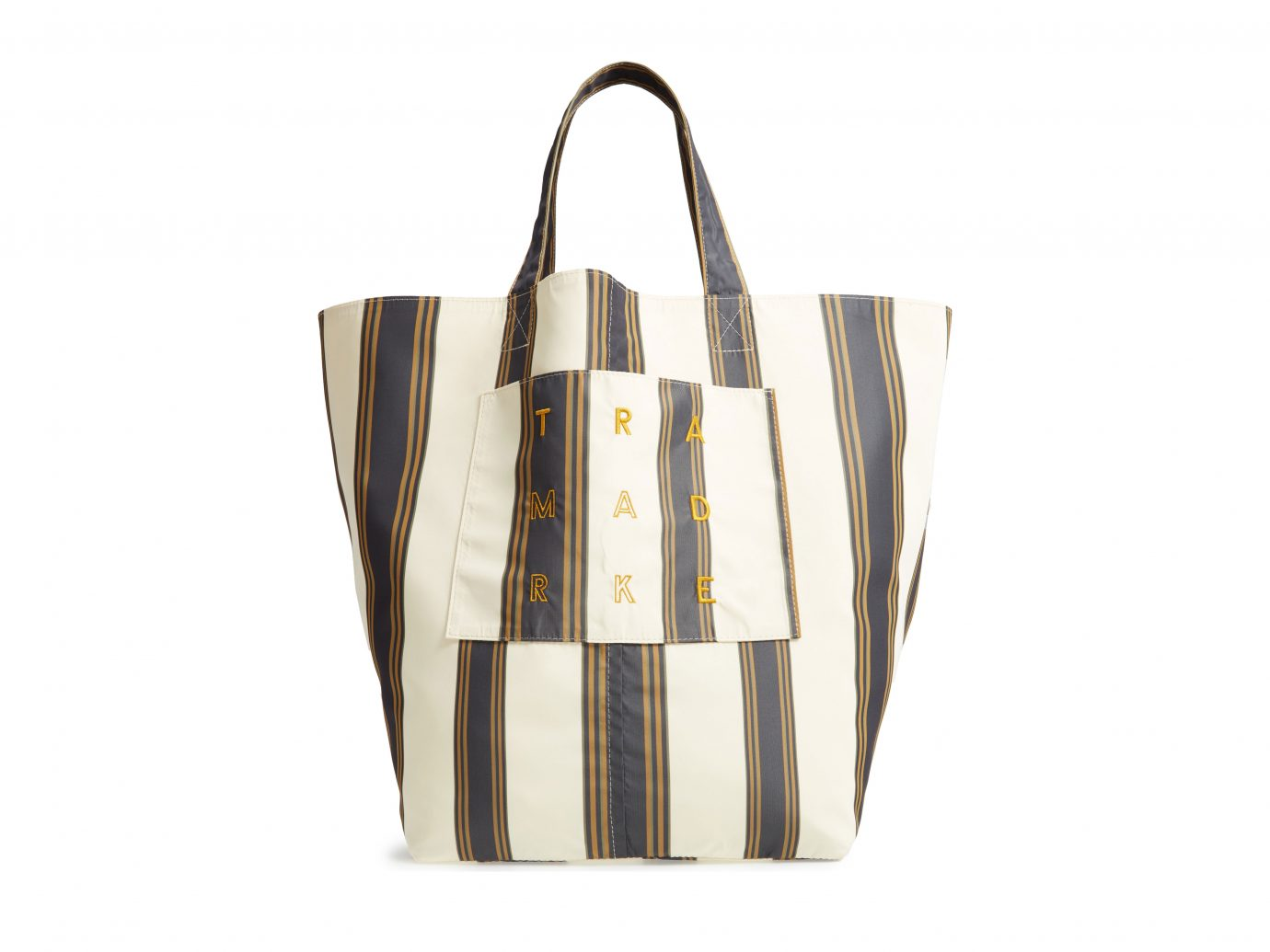 Trademark Large Stripe Logo Tote