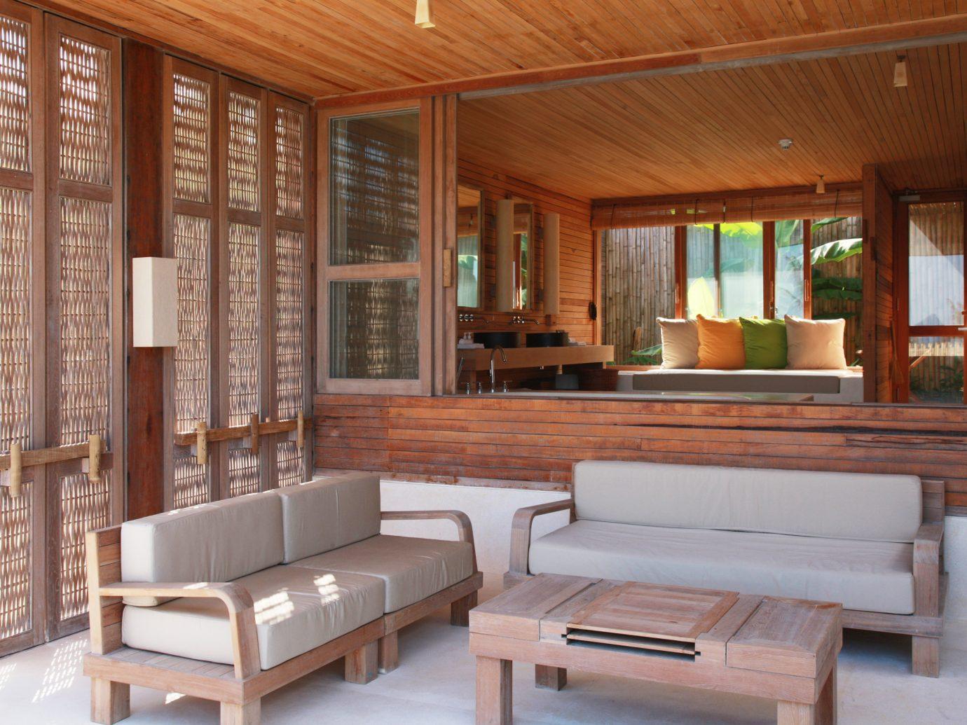 Living room at Six Senses Con Dao, Vietnam