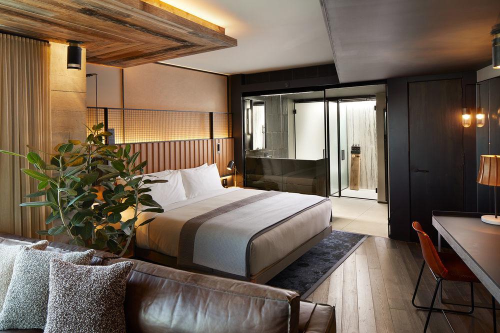 Bedroom at 1 Hotel Brooklyn Bridge