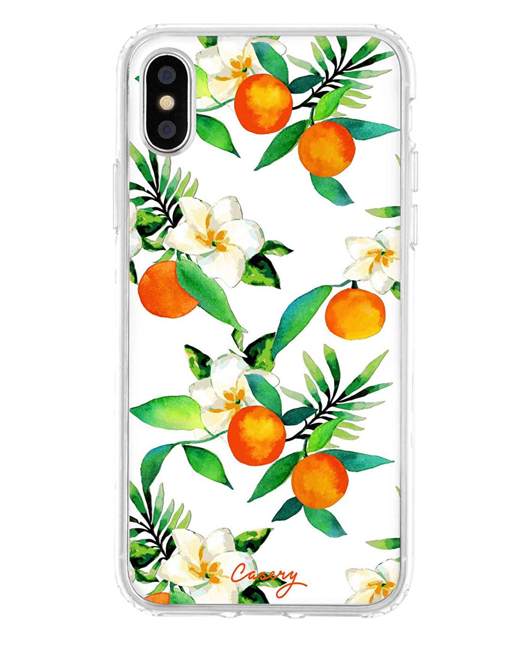 Orange Blossom iPhone Case