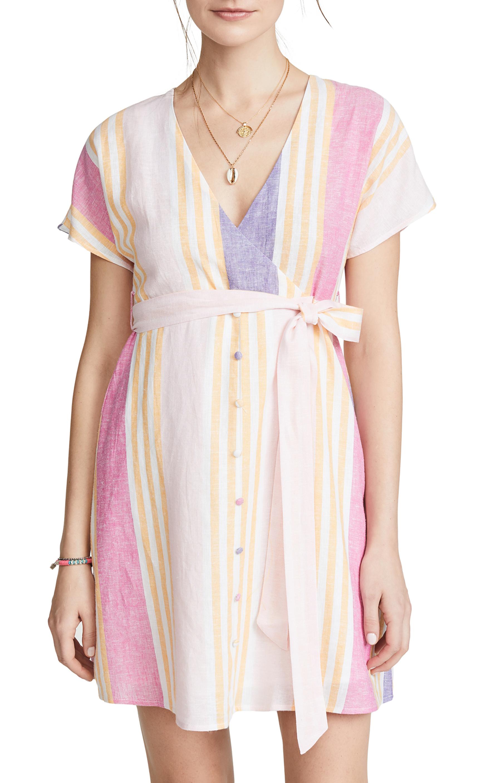Kairi Stripe Dress