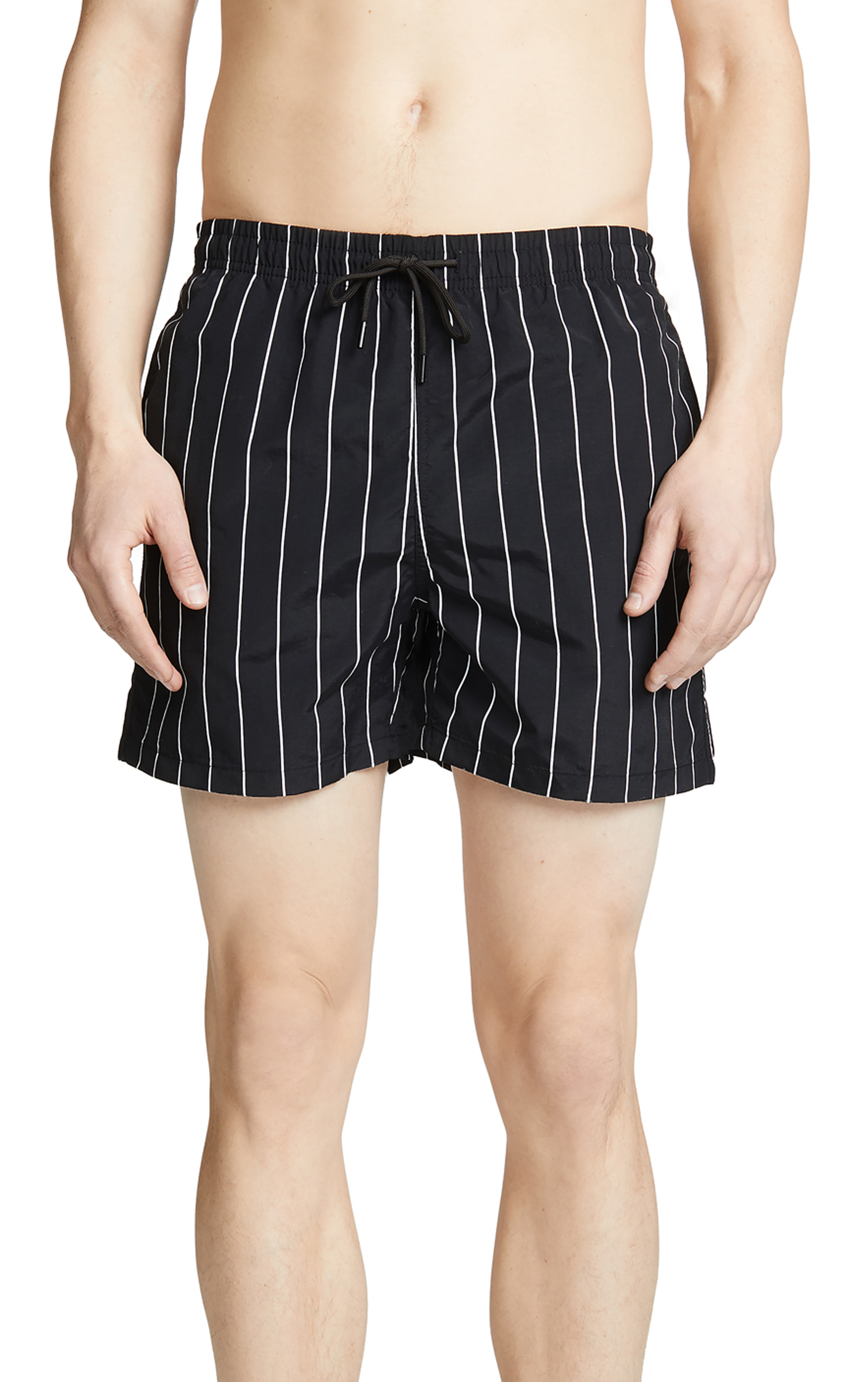Black Striped Trunks