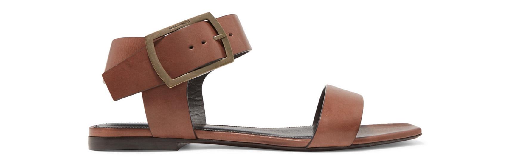 Oak Leather Sandals