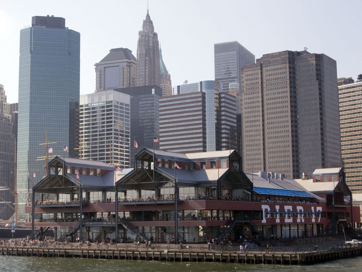 Pier 17 at south street seaport NYC