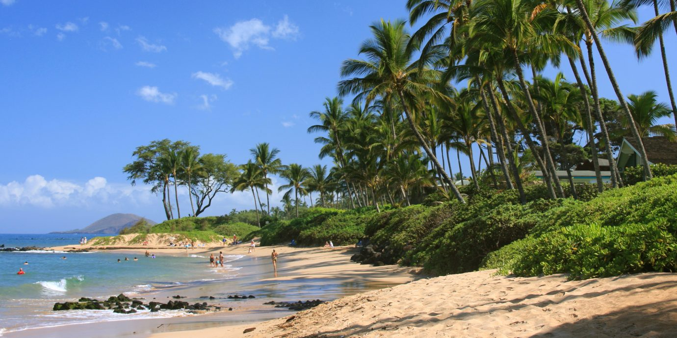 A beach in Maui Hawaii