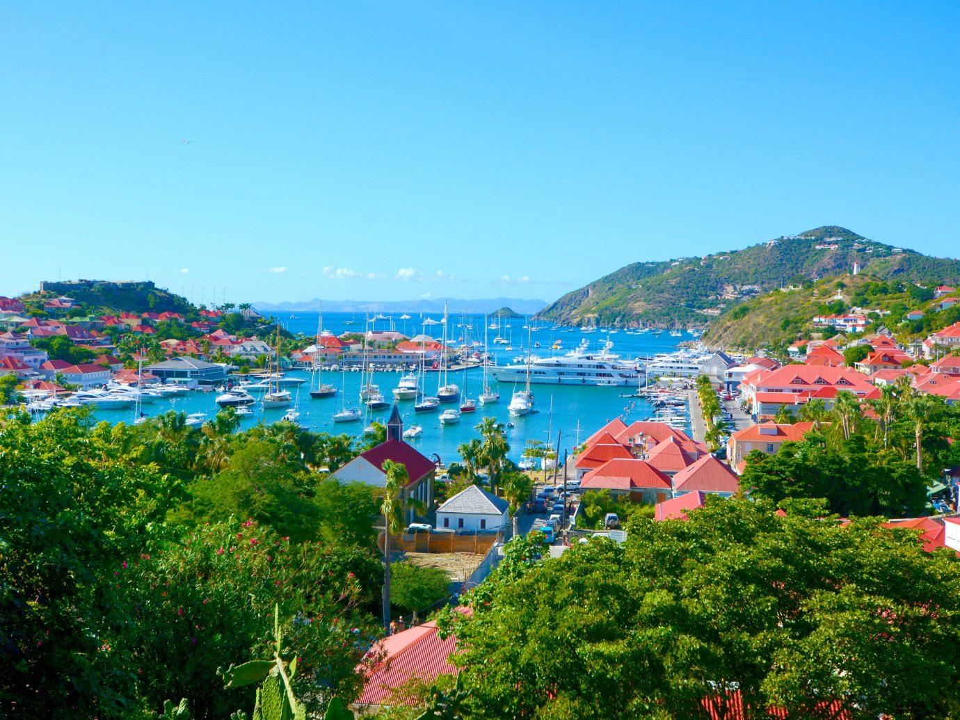 St Barths island, Caribbean sea