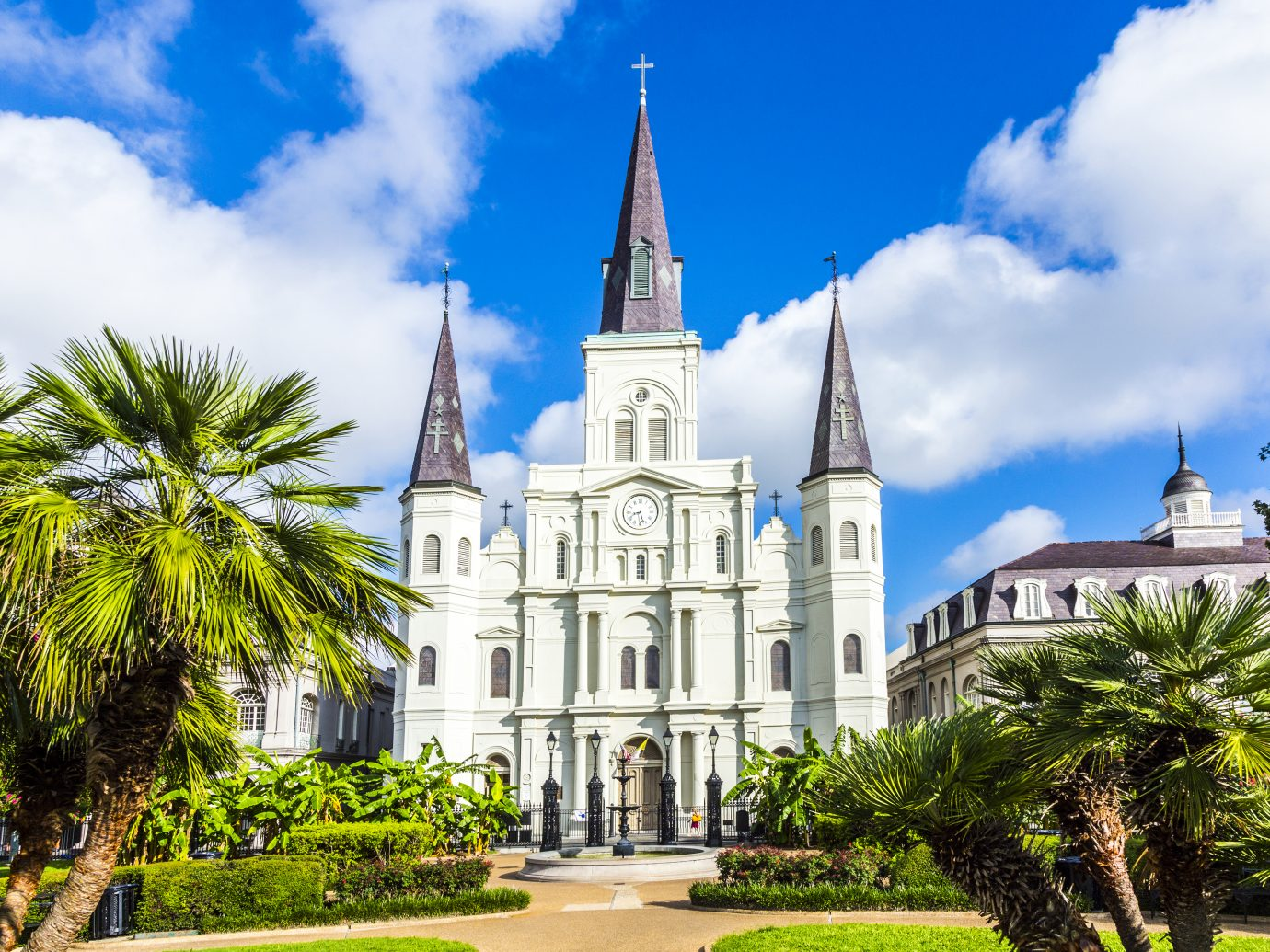 Saint Louis Cathedral in the French Quarter in New Orleans