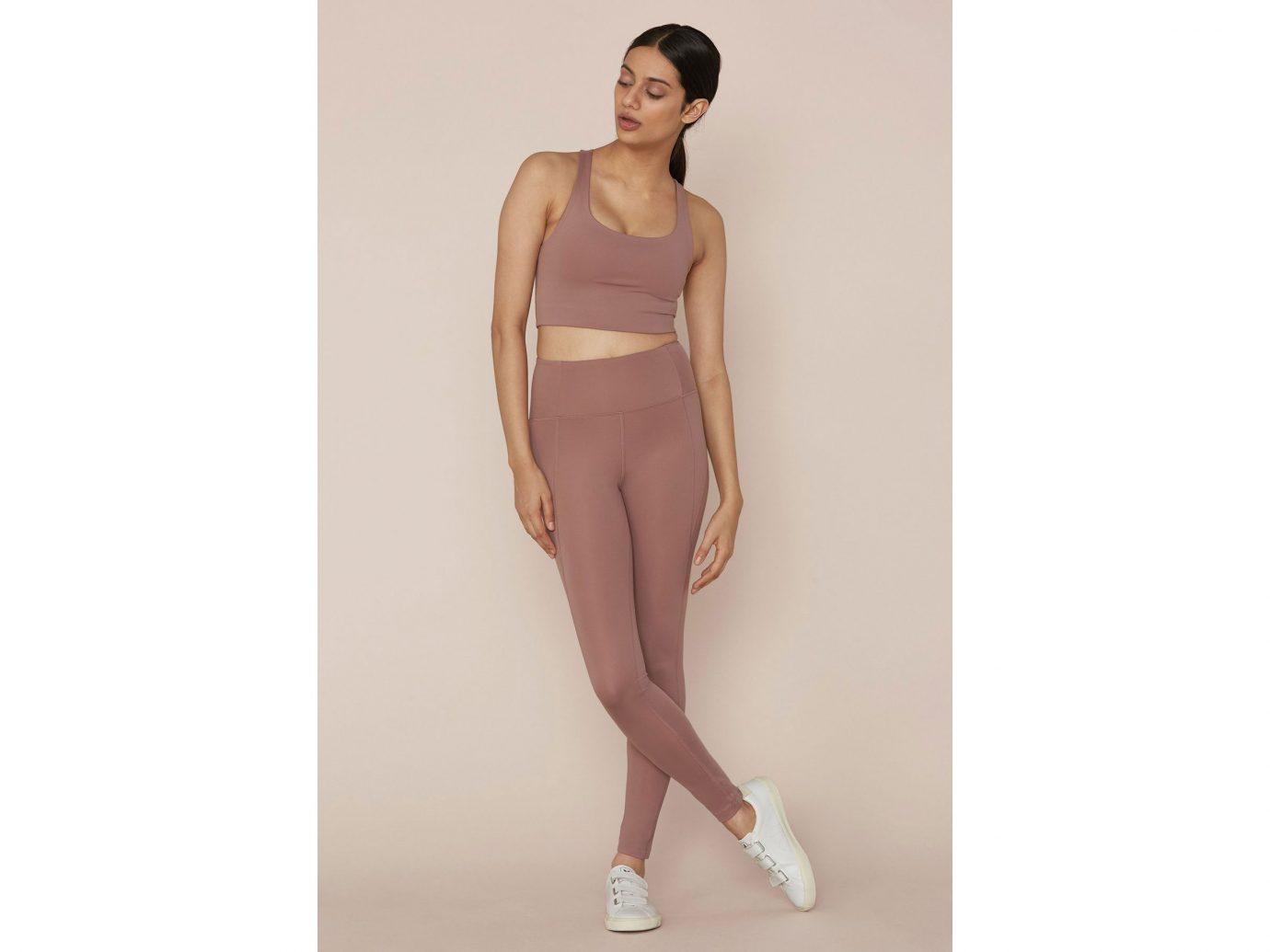 Girlfriend Rose Quartz Compressive High-Rise Legging