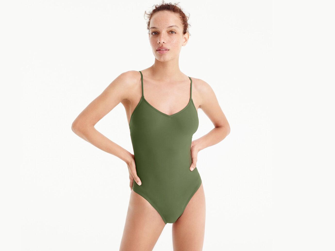 J.Crew Ballet one-piece swimsuit