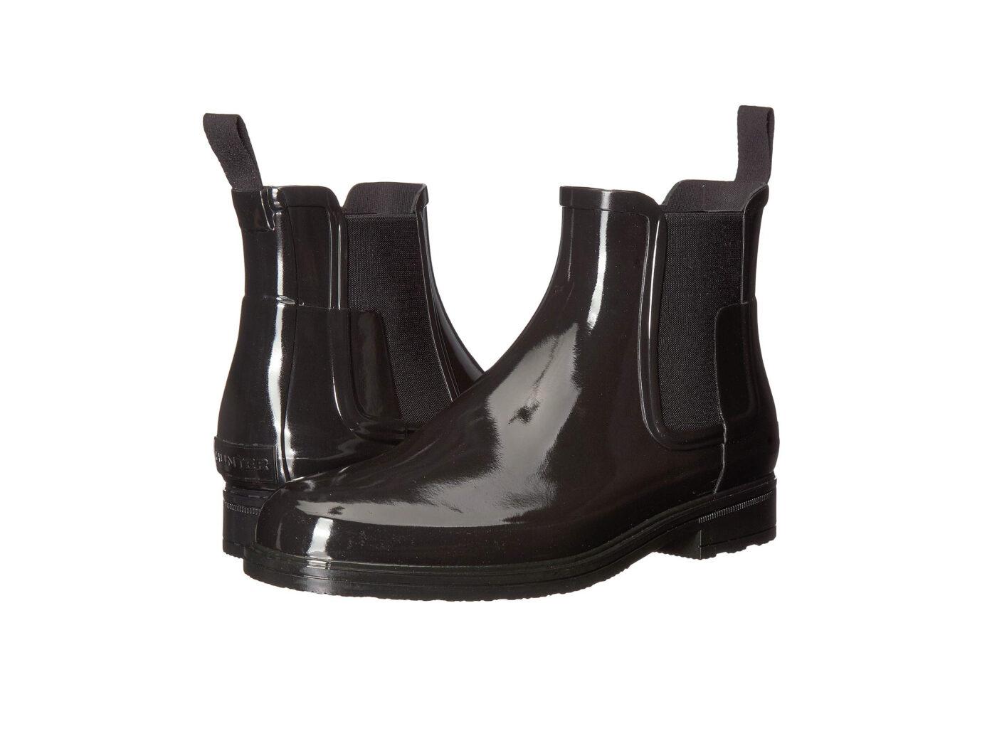 Hunter Refined Gloss Chelsea Boot