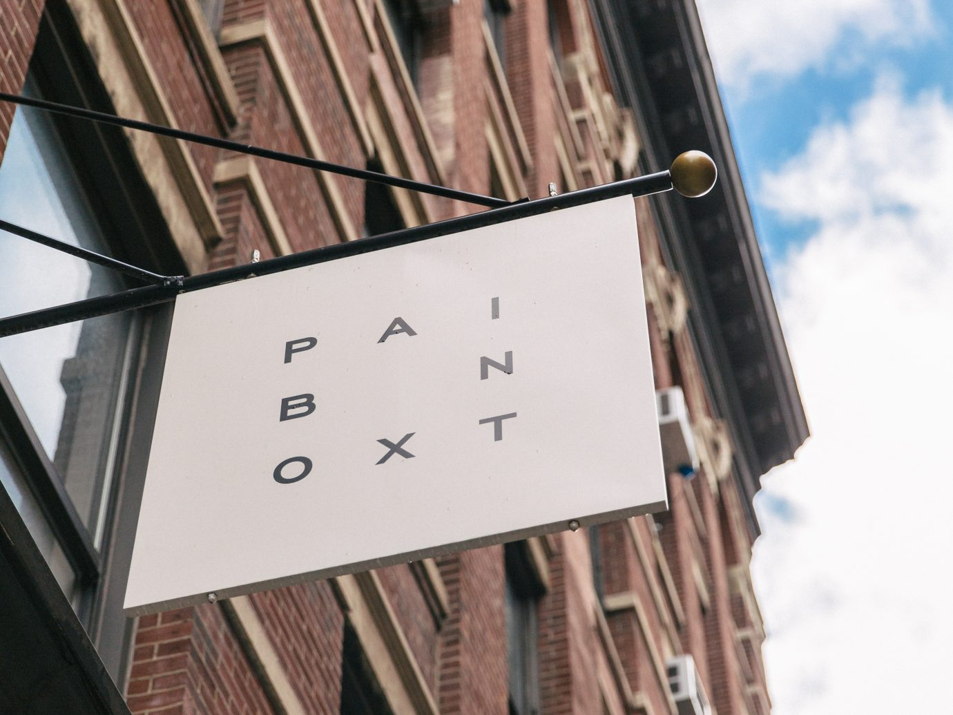 Paintbox exterior sign