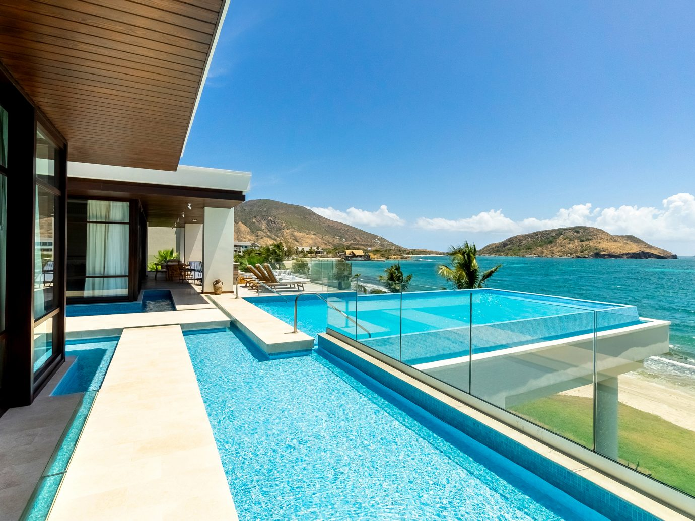 Presidential Villa pool at the Park Hyatt St. Kitts