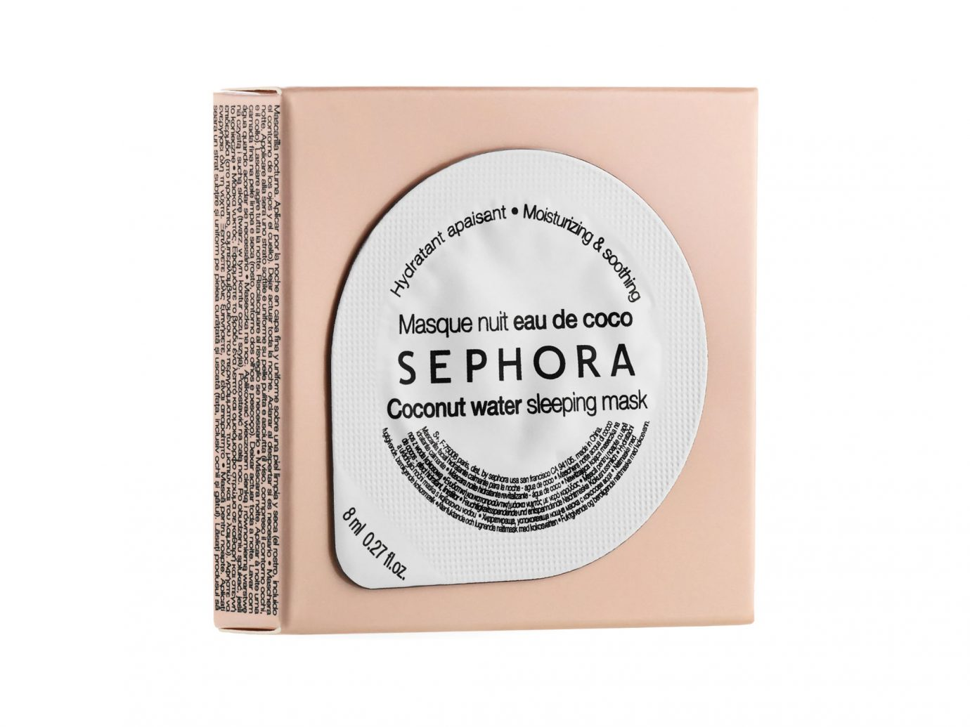 Sephora Coconut Water Sleeping Mask