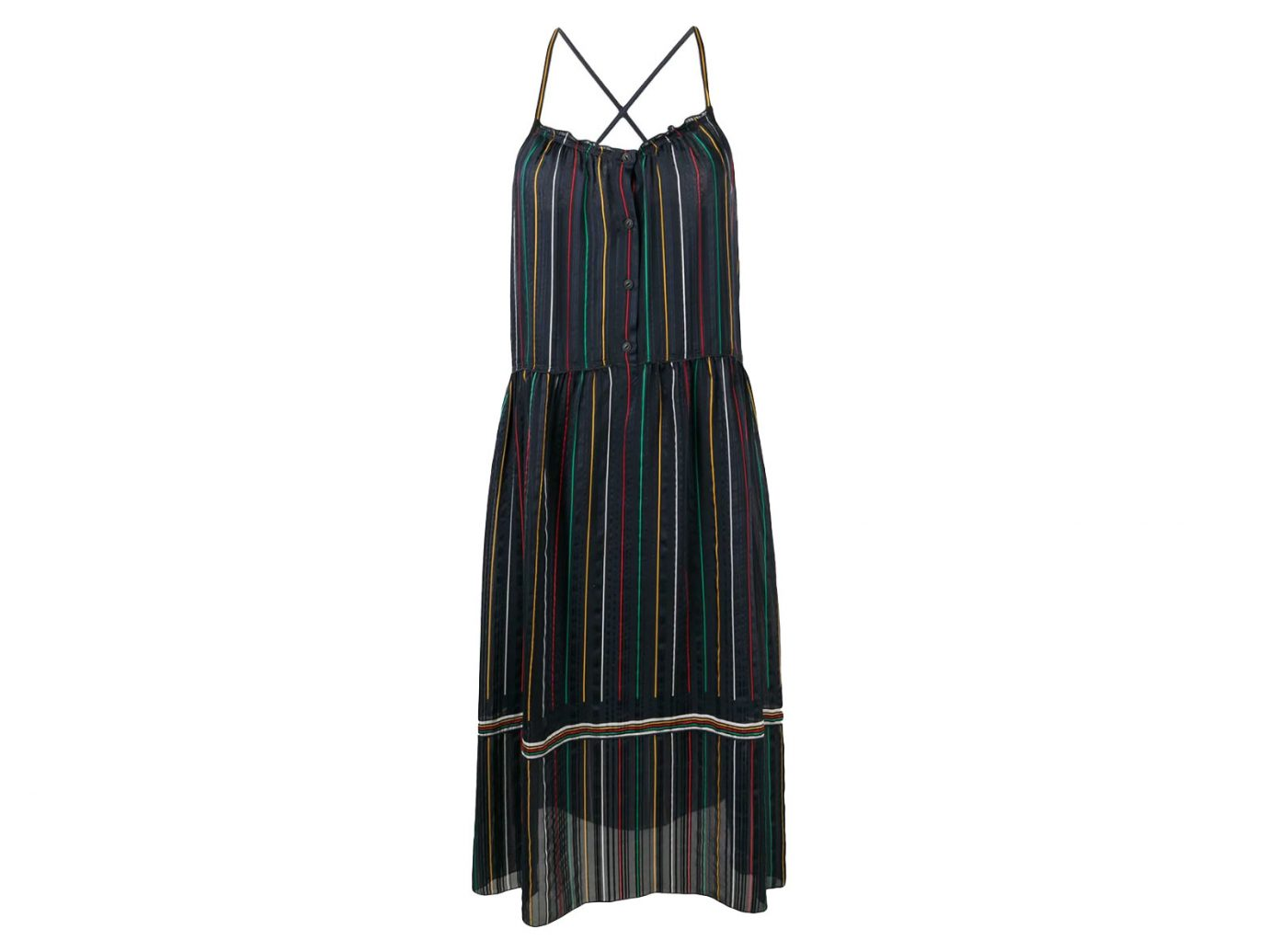 Rag & Bone Austin Stripe Silk Dress