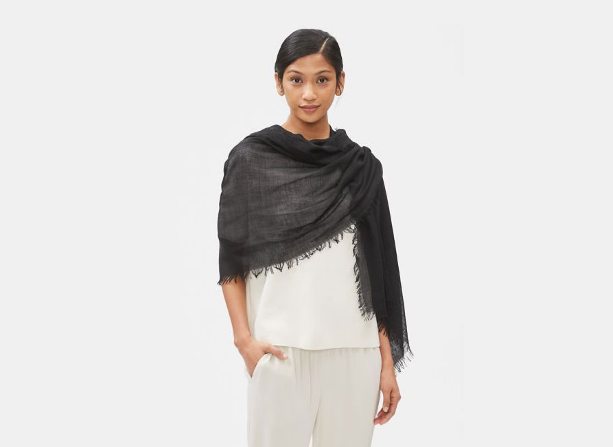 Eileen Fisher Silk Cashmere Wrap