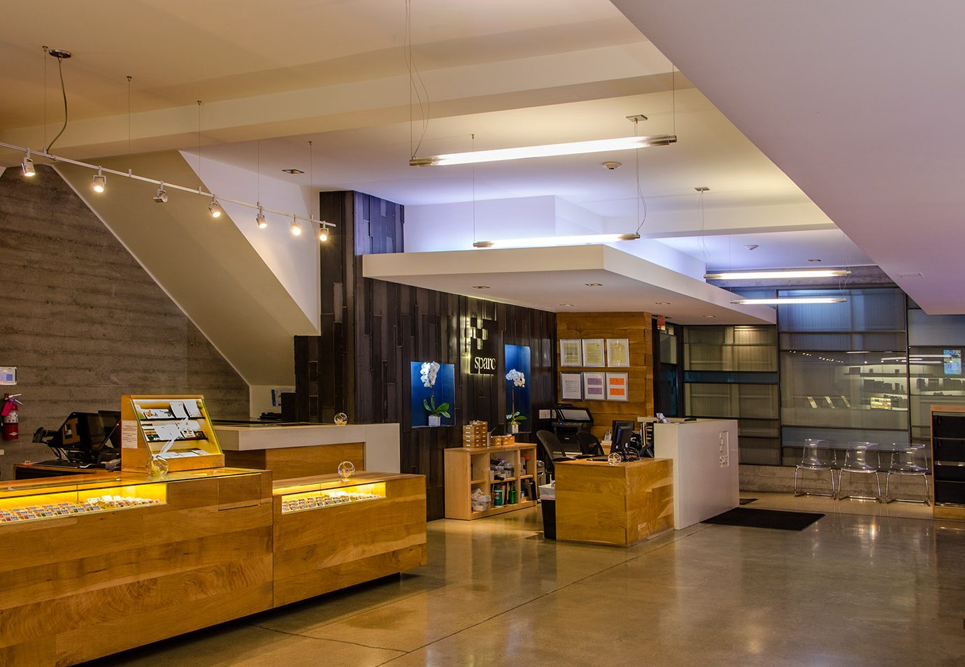 Interior of SPARC in San Francisco