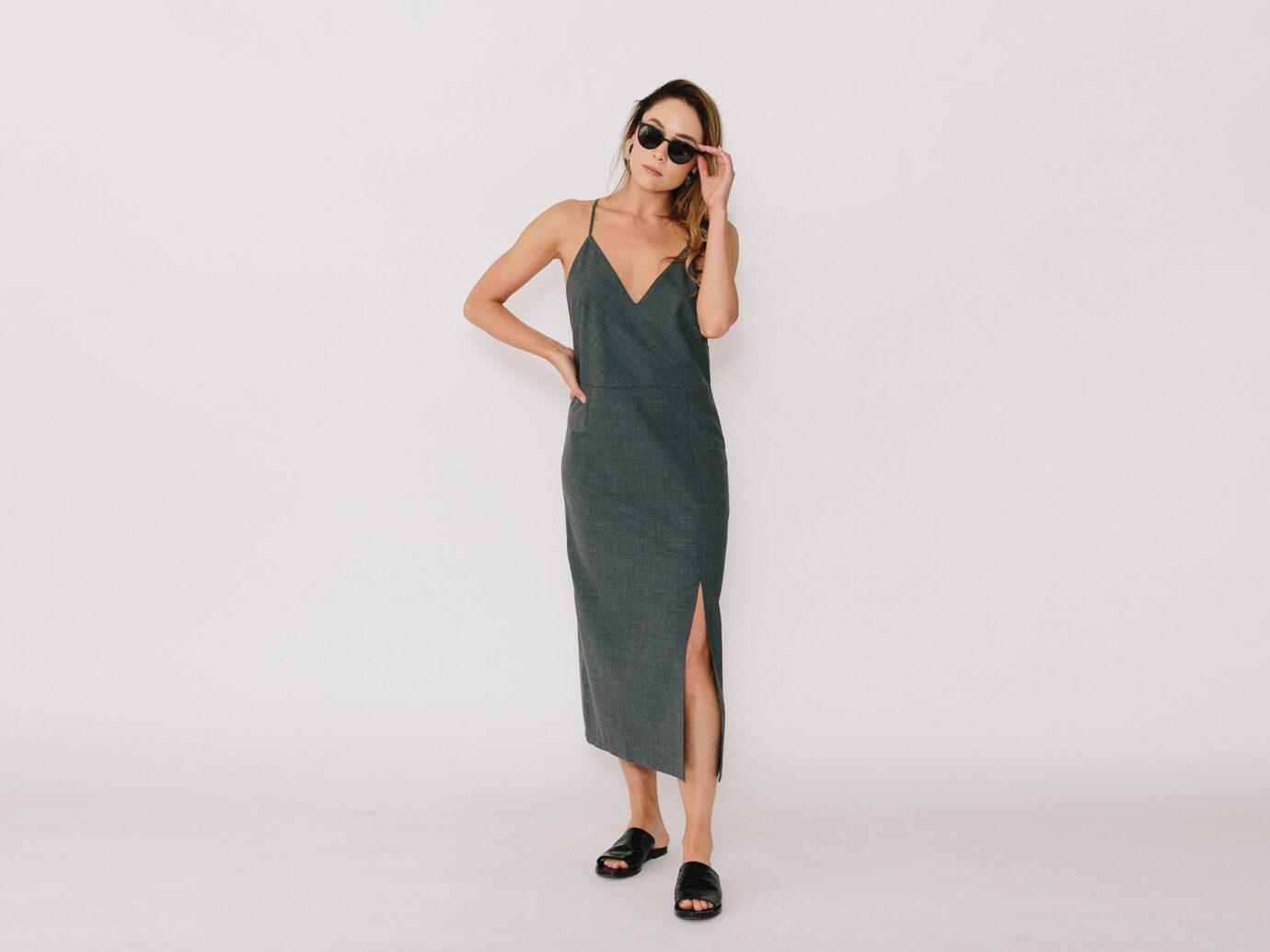 ECLIPSE CAMI DRESS