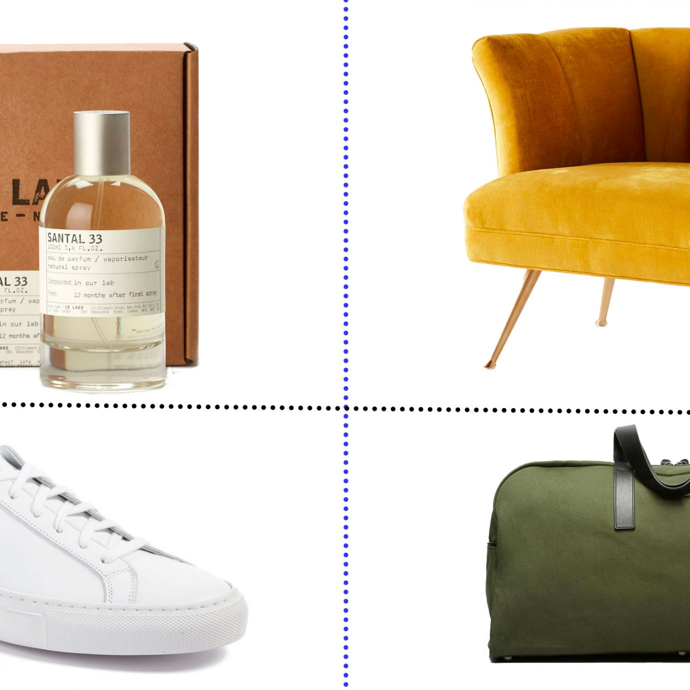Most popular items sold on Jetsetter collage