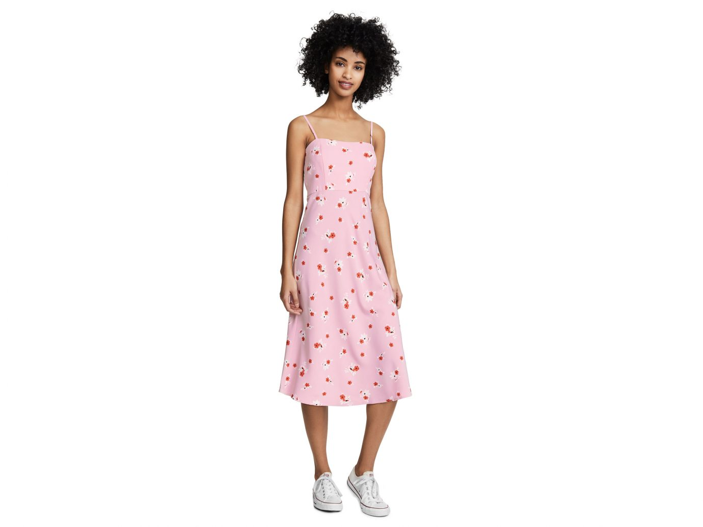 Re:named Brenda Floral Midi Dress
