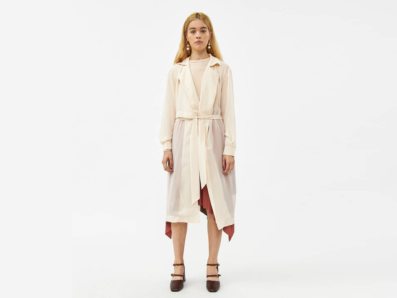 Farrow Edith Sheer Trench Jacket
