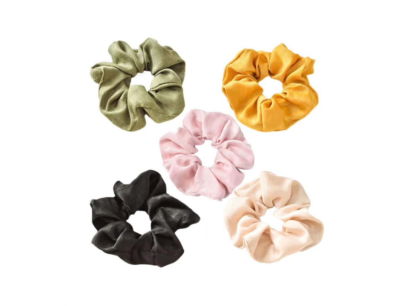 UBelle Satin Hair Scrunchies