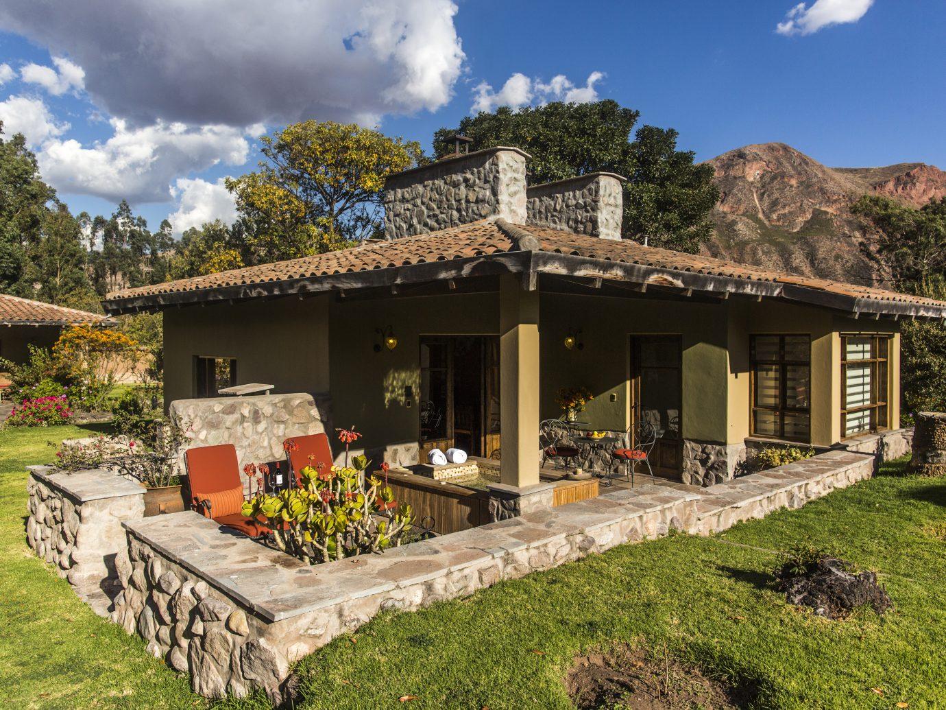 Terrace of Premium casita at Sol y Luna
