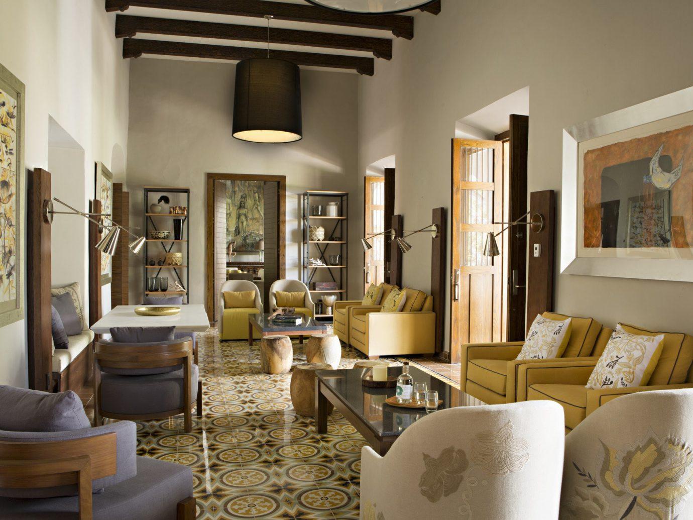 Lounge at Chable Resort, Yucatan