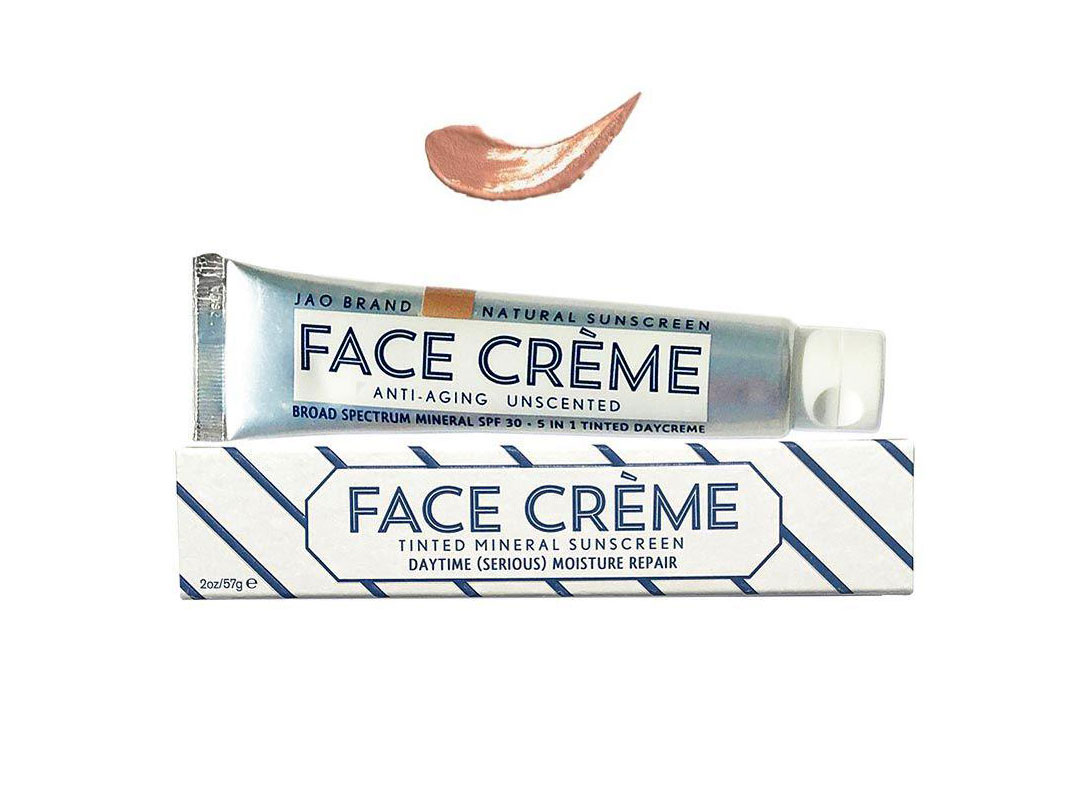 Jao Brand Face Crème Tinted Mineral Sunscreen