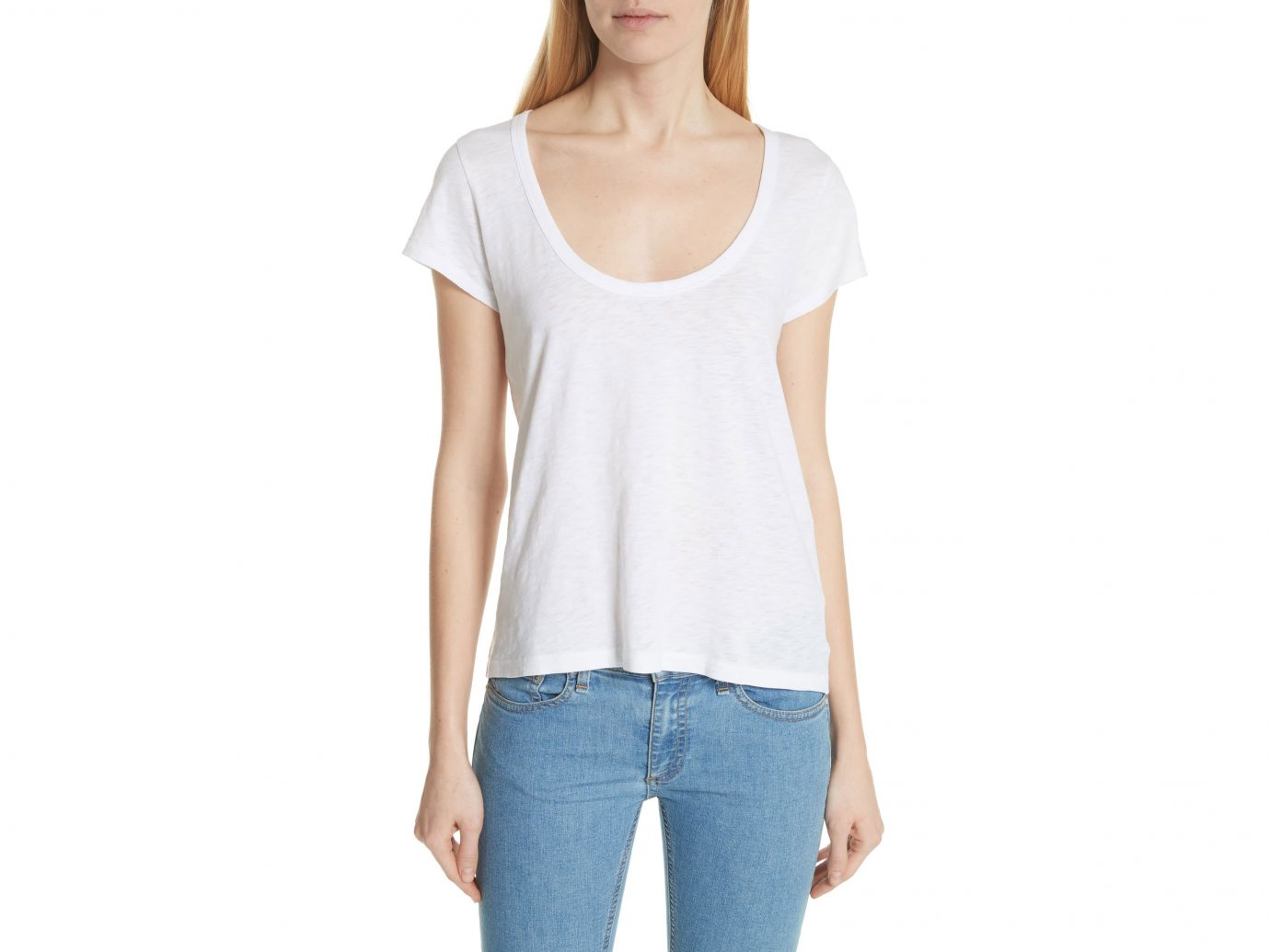 Rag & Bone U-Neck Tee