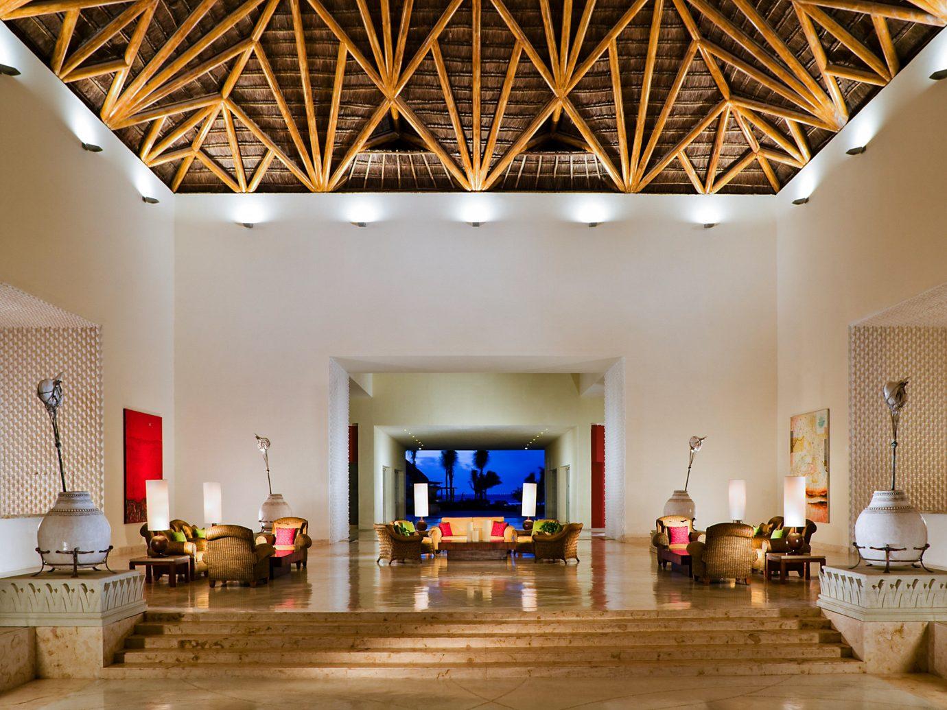 Lobby at Grand Velas Riviera Maya