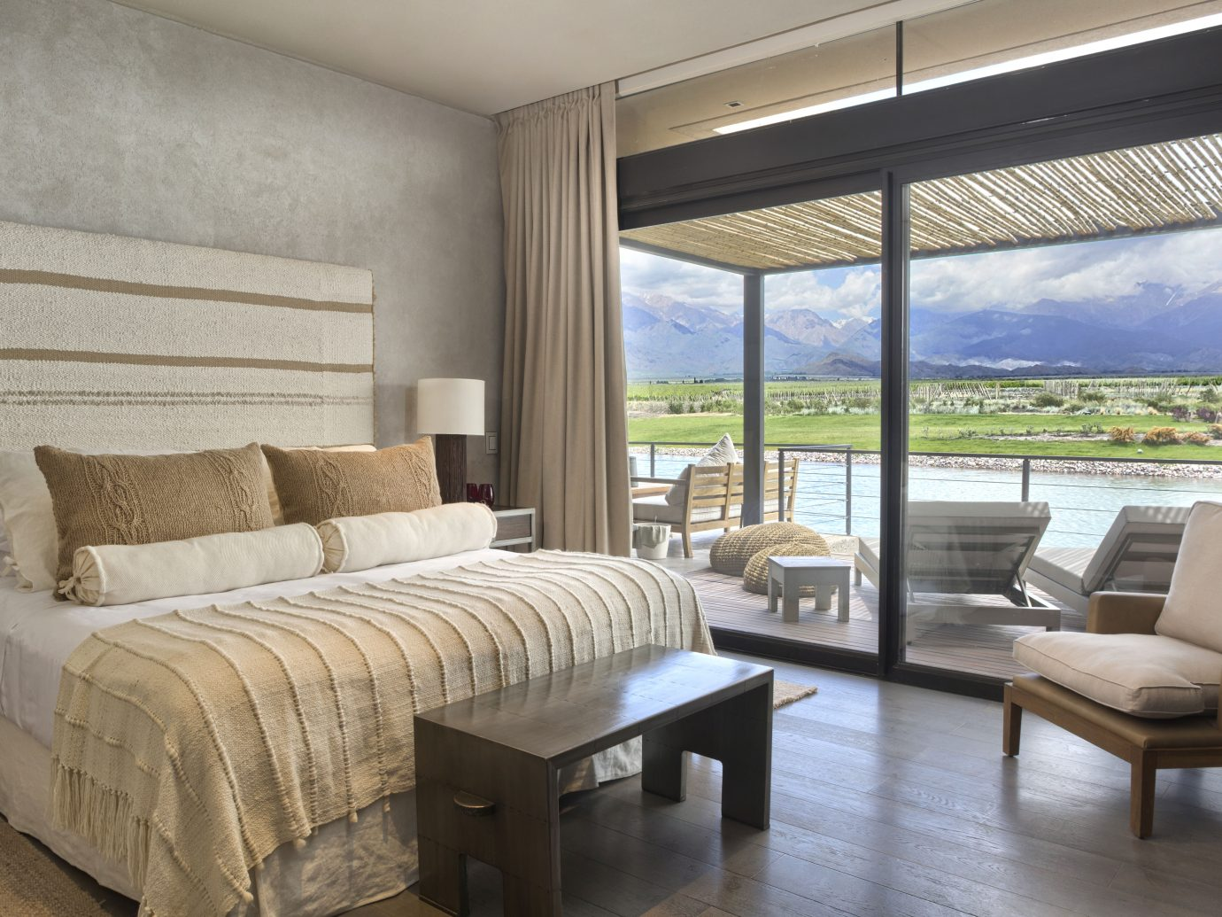 Bedroom at The Vines Resort & Spa