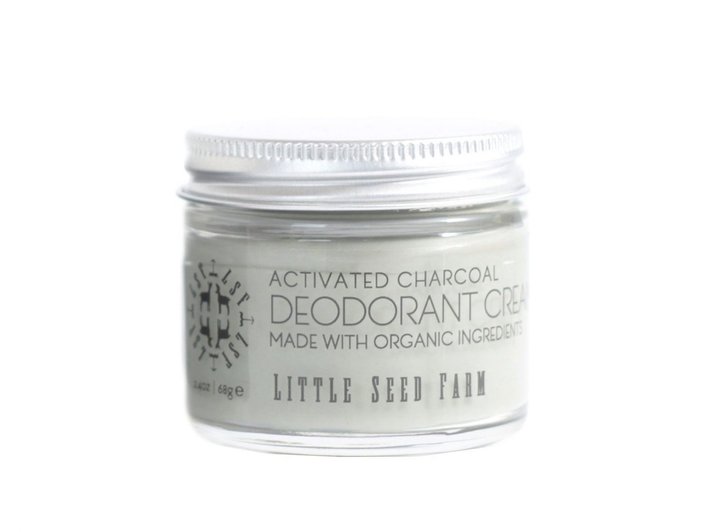 Little Seed Farm Natural Deodorant Cream: Activated Charcoal