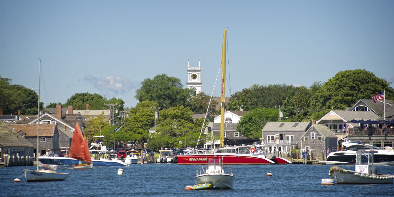 View of Martha's Vineyard harbor