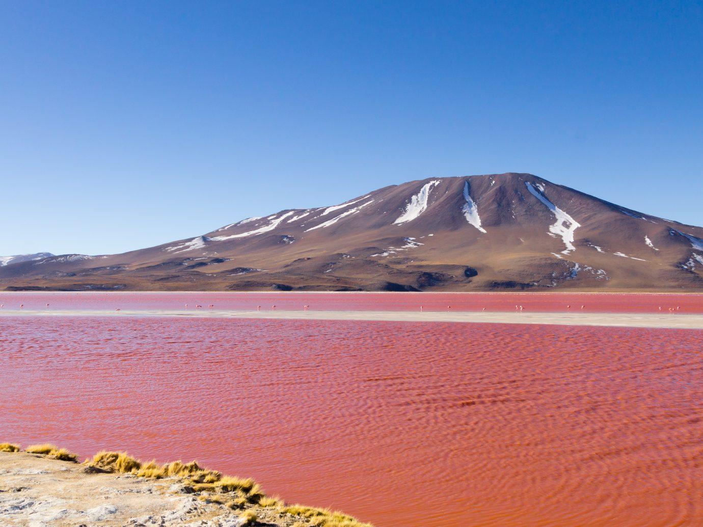 Laguna Colorada landscape,Bolivia