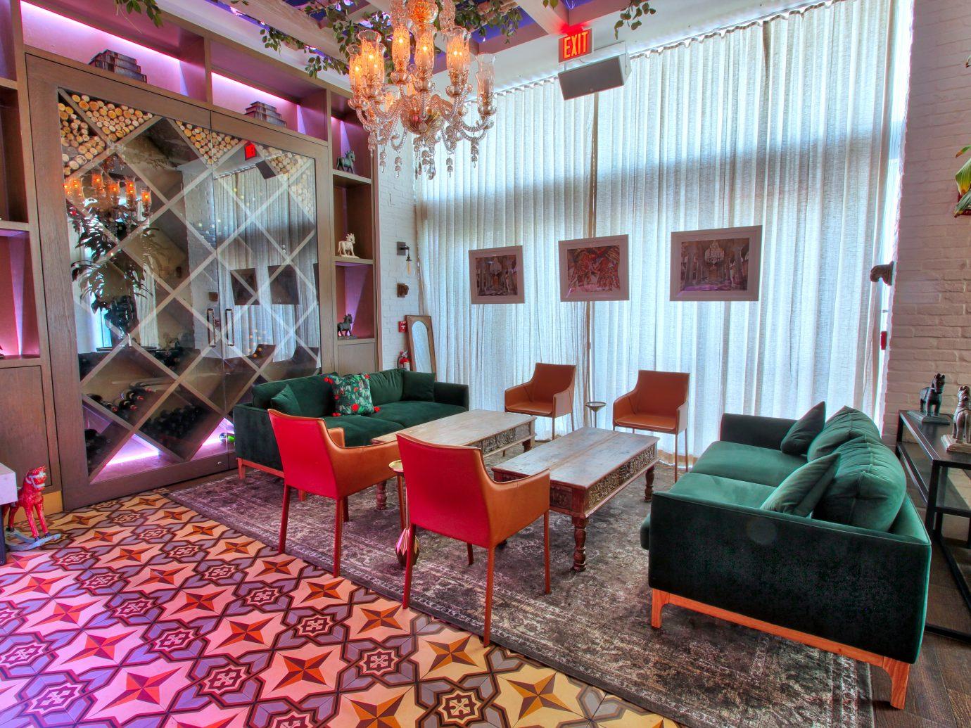 Interior view of Maska in Miami