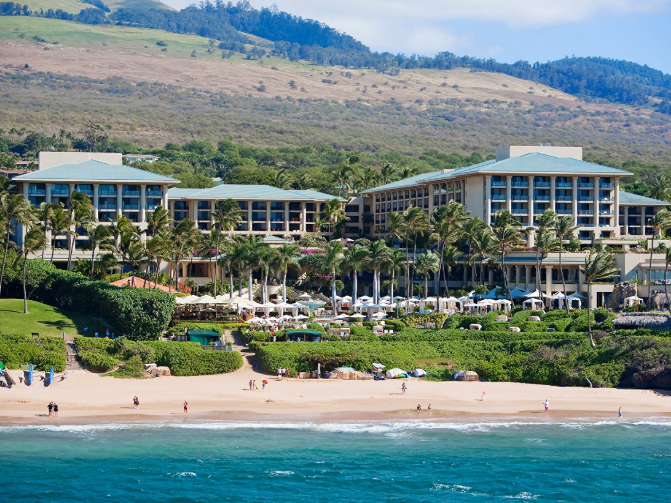 Exterior of Four Seasons Maui